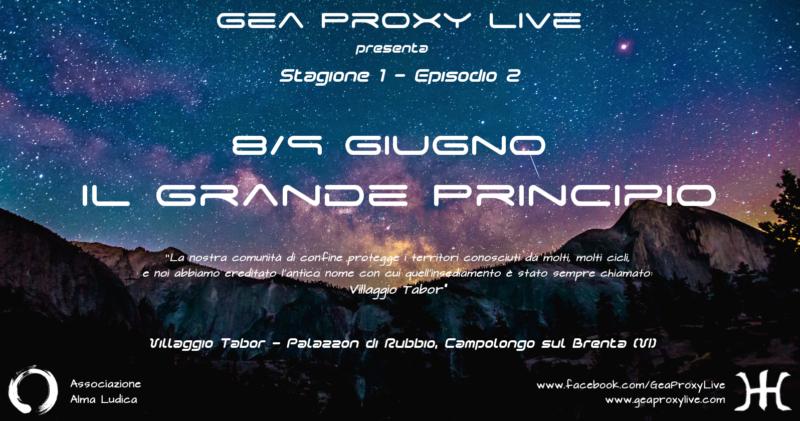Episodio 2 - Il Grande Principio